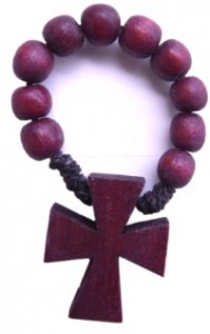 ROSARY RING WOOD